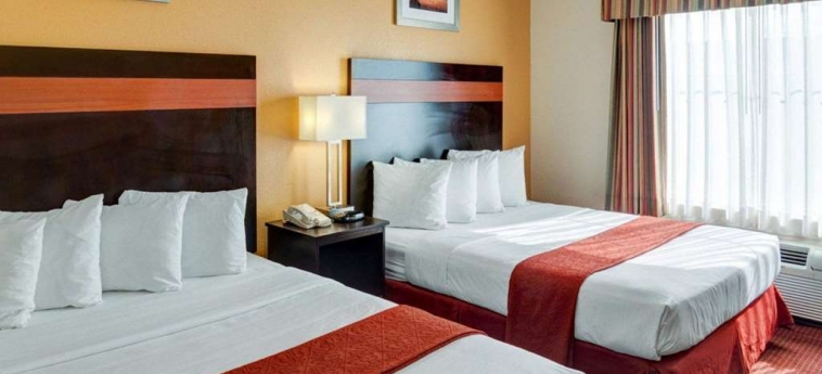 Hotel Quality Suites Bush - Iah Airport West: Hotel detail HOUSTON (TX)