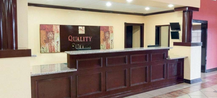 Hotel Quality Suites Bush - Iah Airport West: Lobby HOUSTON (TX)