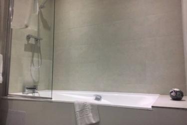 Hotel Swallow Huddersfield: Ducha del baño HUDDERSFIELD