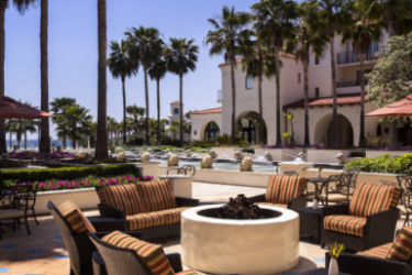 Hotel Hyatt Regency Huntington Beach Resort And Spa: Patio HUNTINGTON BEACH (CA)