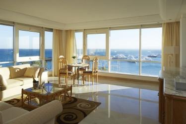 Hotel Marriott Beach Resort: Living area HURGHADA