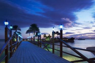 Hotel Marriott Beach Resort: Quai HURGHADA