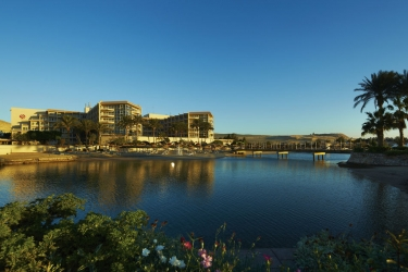 Hotel Marriott Beach Resort: Faccia dell'hotel HURGHADA
