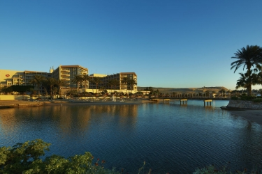 Hotel Marriott Beach Resort: Facciata dell'hotel HURGHADA