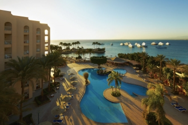 Hotel Marriott Beach Resort: Piscina all'aperto HURGHADA