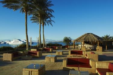 Hotel Marriott Beach Resort: Terrazza/patio HURGHADA