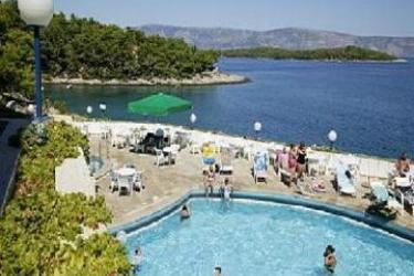 Hotel & App. Fontana Jelsa: Outdoor Swimmingpool HVAR ISLAND - DALMATIA