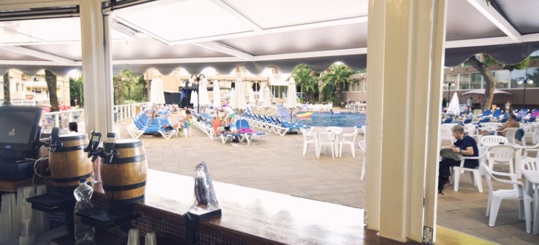 Hotel The Coral Beach : Bar IBIZA - BALEARIC ISLANDS