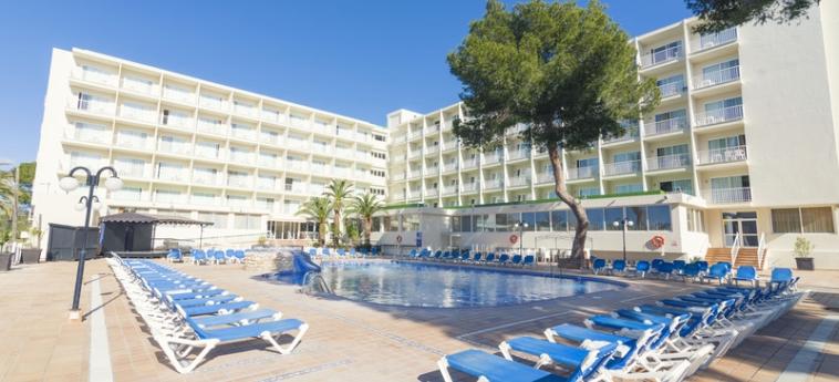 Hotel The Coral Beach : Terrasse IBIZA - BALEARISCHEN INSELN