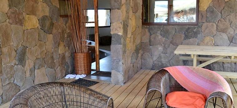 Hotel Hare Noi: Chambre - Detail ILE DE PAQUES