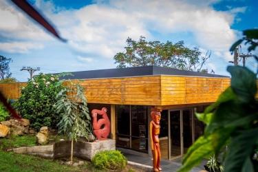 Hotel Hostal Rapa Nui: Aménagement chambre ILE DE PAQUES