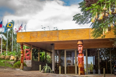 Hotel Hostal Rapa Nui: Dining Area ILE DE PAQUES