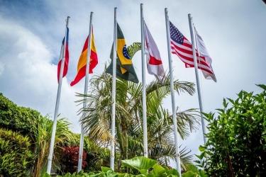 Hotel Hostal Rapa Nui: Salon ILE DE PAQUES