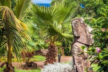Hotel Hostal Rapa Nui: Vue des chambres ILE DE PAQUES