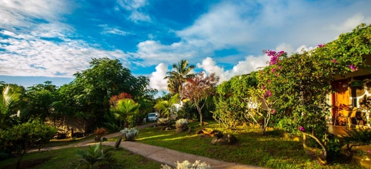Hotel Easter Island Eco Lodge: Jardin ILE DE PAQUES