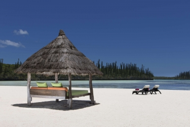 Hotel Le Meridien Ile Des Pins: Beach ILE DES PINS