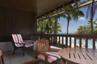 Hotel Le Meridien Ile Des Pins: Terrace ILE DES PINS