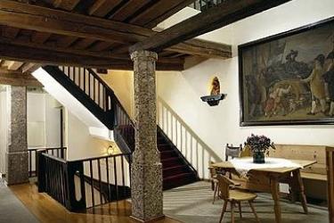 Hotel Weisse Kreuz: Lobby INNSBRUCK