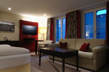 Hotel Krebs: Camera Junior Suite INTERLAKEN