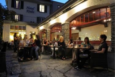 Hotel Krebs: Terrazza INTERLAKEN