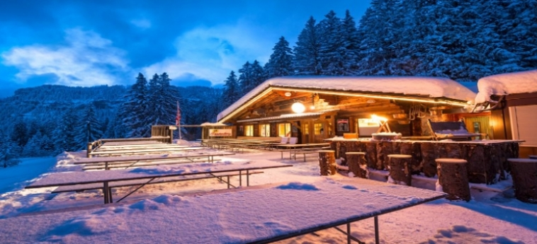 Hotel Dorint Bluemlisalp Beatenberg Interlaken: Jardín INTERLAKEN