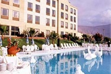Hotel Carrera: Außenschwimmbad IQUIQUE