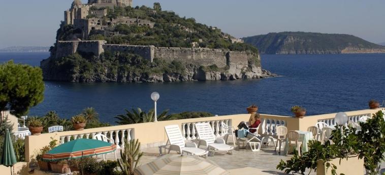 Hotel Giardino Delle Ninfe E La Fenice: Sundeck ISCHIA ISLAND - NAPLES