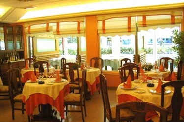 Hotel Isabel: Restaurant ISLA - CANTABRIE