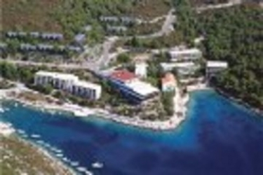 Sirena Hotel: Vista ISLA DE HVAR - DALMACIA