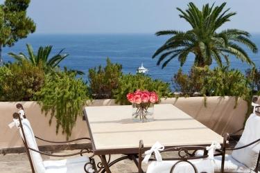 Villa Marina Capri Hotel & Spa: Terrazza ISOLA DI CAPRI - NAPOLI