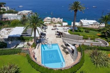 Villa Marina Capri Hotel & Spa: Vista Aerea ISOLA DI CAPRI - NAPOLI
