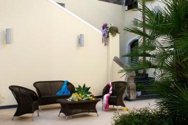 Hotel Villa Carolina: Terrazza ISOLA DI ISCHIA - NAPOLI