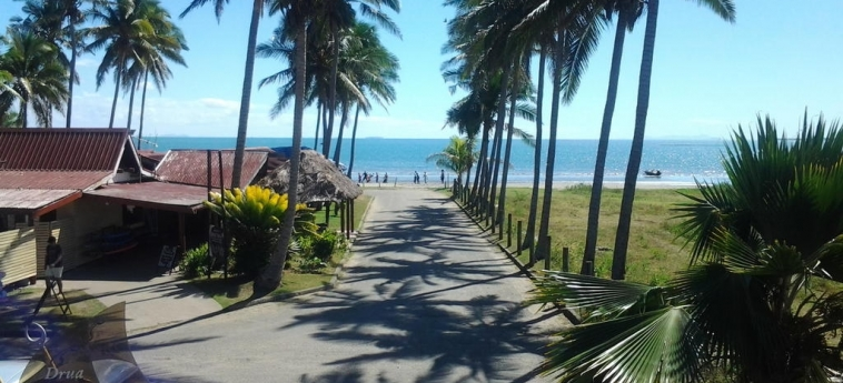 Hotel Bamboo Backpackers: Spiaggia ISOLE FIGI