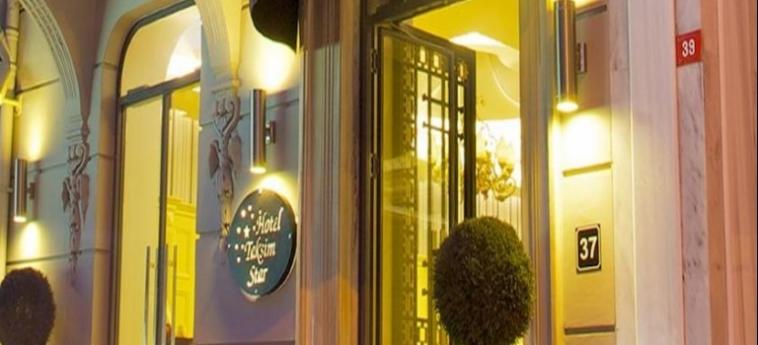 Taksim Star Hotel: Entrata ISTANBUL