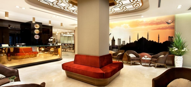Hotel Sorriso: Lobby ISTANBUL