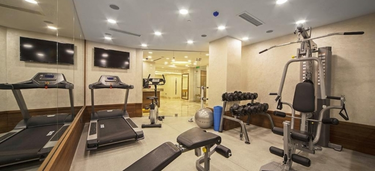Dosso Dossi Hotels Old City: Salle de Gym ISTANBUL
