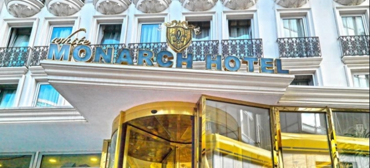 Hotel White Monarch: Entrance ISTANBUL