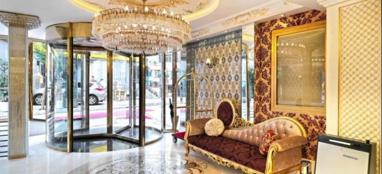 Hotel White Monarch: Lobby ISTANBUL