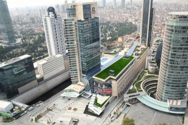 Hotel Wyndham Grand Istanbul Levent: Esterno ISTANBUL