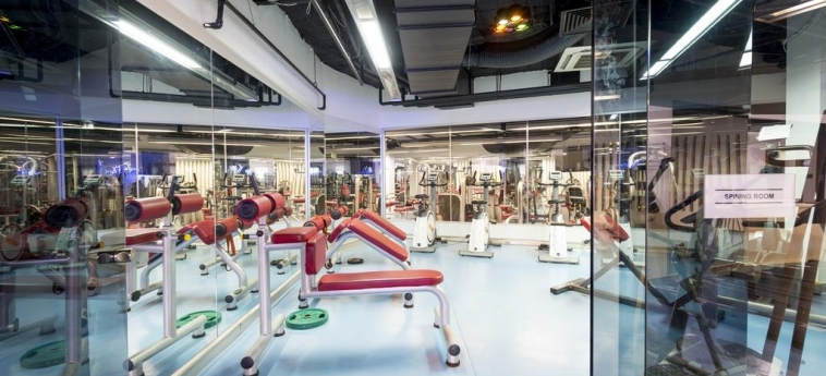 Bh Conference & Airport Hotel Istanbul: Gimnasio ISTANBUL