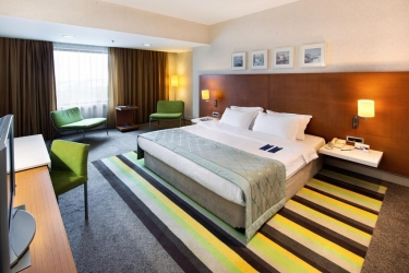 Hotel Radisson Blu Conference & Airport: Doppelzimmer ISTANBUL