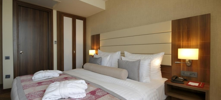 Hotel Tuyap Palas: Schlafzimmer ISTANBUL