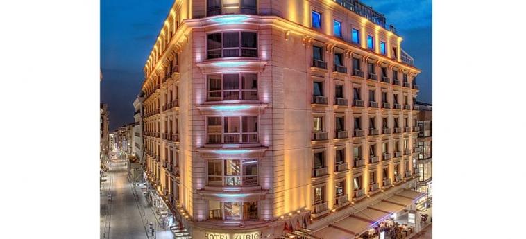 Hotel Zurich: Exterior ISTANBUL