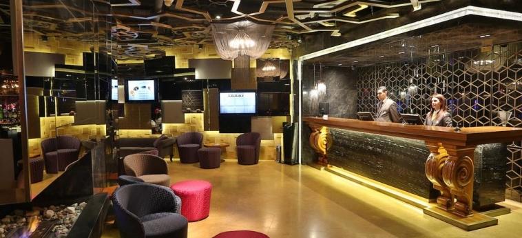 Hotel Zurich: Reception ISTANBUL