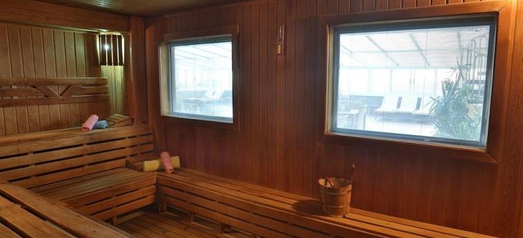 Hotel Zurich: Sauna ISTANBUL