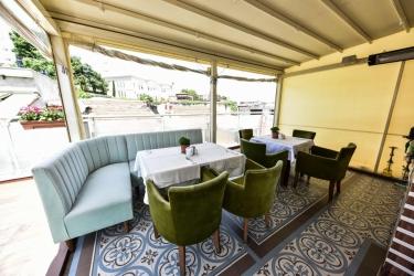 Hotel Almina: Bar ISTANBUL