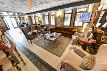 Hotel Almina: Lobby ISTANBUL
