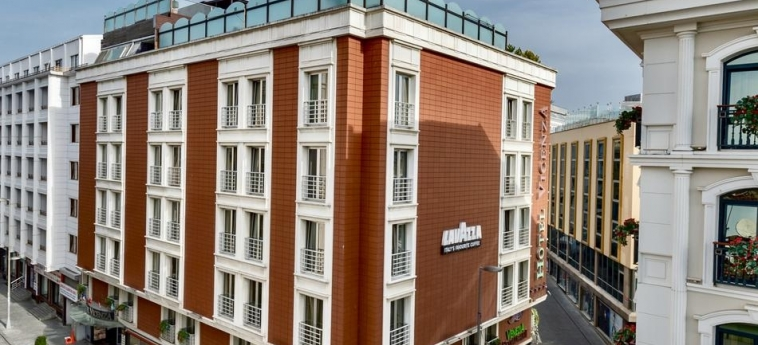Hotel Vicenza: Exterior ISTANBUL