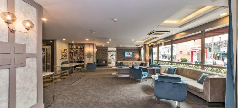 Hotel Vicenza: Lobby ISTANBUL