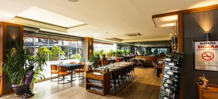 Hotel Vicenza: Sala de Desayuno ISTANBUL